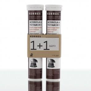 Korres Acerola & Vitamin C 1+1 Δώρο