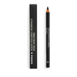 Korres Professional Kohl Eyeliner Σταθερό Αποτέλεσμα, Μαύρο 01, 0,04Fl. Oz. 1,14mL