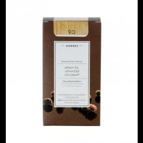 Korres Argan Oil Advanced Colorant 9.0 Ξανθό Πολύ Ανοικτό