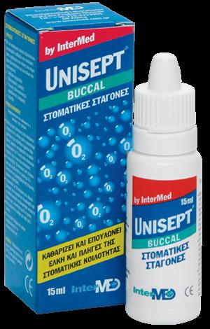 InterMed Unisept Buccal Στοματικές Σταγόνες by Intermed