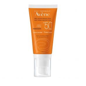 Avene Cream Tinted SPF50+ Αντηλιακή Κρέμα Προσώπου με Χρώμα