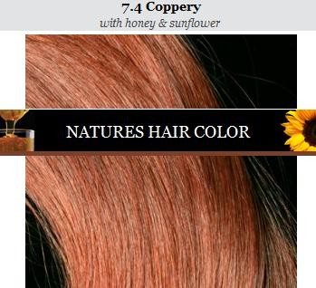 Apivita nature's hair color 7.4 by Apivita