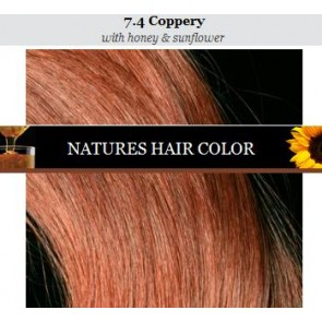 Apivita nature's hair color 7.4