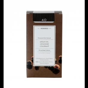 Korres Argan Oil Advanced Colorant 4.0 Καστανό Φυσικό
