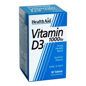 Health Aid Vitamin D3 1000iu
