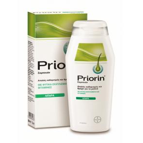 Priorin Σαμπουάν Κατά της Τριχόπτωσης για Λιπαρά Μαλλιά