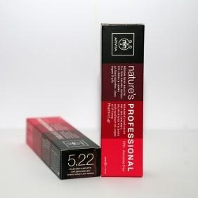 Apivita Nature's Professional Hair Colore 5.22 by Apivita