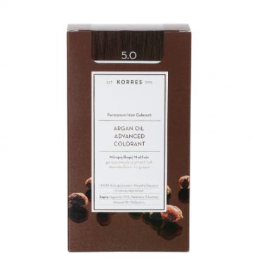 Korres Argan Oil Advanced Colorant 5.0 Καστανό Ανοικτό by Korres