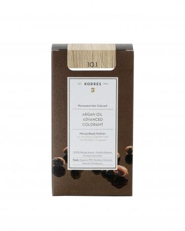 Korres Argan Oil Advanced Colorant 10.1 Ξανθό Πλατίνας Σαντρέ by Korres