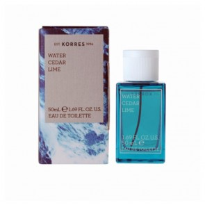 Korres Ανδρικό Άρωμα Water Cedar & Lime Eau de Toilette