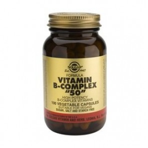 """Solgar B-Complex """"50"""" Vegetable Capsules"""