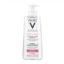 Vichy Purete Thermale Eau Micellar Minerale Water Καθαριστικό Νερό Ντεμακιγιάζ για Ευαίσθητη Επιδερμίδα 400ml by Vichy
