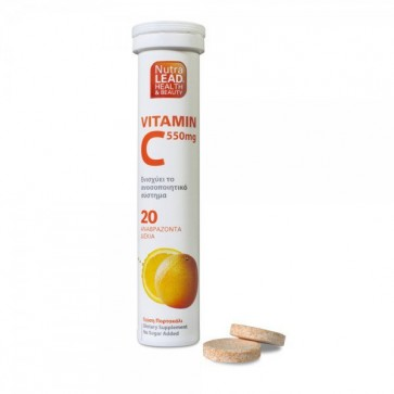 Βιταμίνη C 550mg by Vitorgan