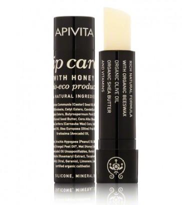 Apivita eco-bio lip care για ξηρά/σκασμένα χείλη. by Apivita