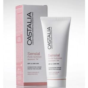 Castalia Sensial Fluide Hydratant Apaisant TM SPF15