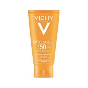 Vichy Ideal Soleil Ματ Αποτέλεσμα SPF50