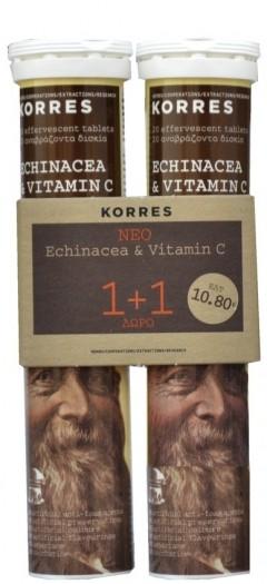 Korres Echinacea & Vitamin C 1+1 Δώρο by Korres
