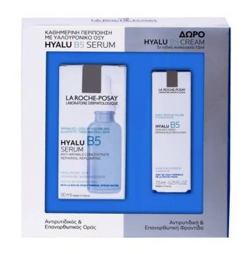 La Roche Posay Hyalu B5 Serum 30ml + ΔΩΡΟ La Roche Posay Hyalu B5 Cream 7.5ml by La Roche - Posay