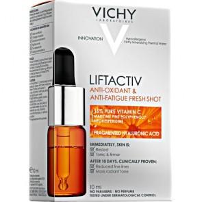 Vichy Liftactiv Αντιοξειδωτικό Συμπύκνωμα Ενάντια στα Σημάδια Κούρασης με 15% Καθαρή Βιταμίνη C 10ml