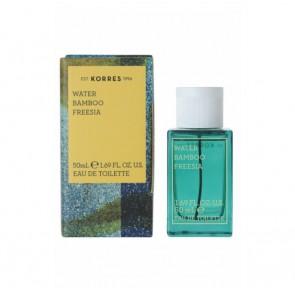 Korres Γυναικείο Άρωμα  Water Bamboo & Freesia Eau de Toilette