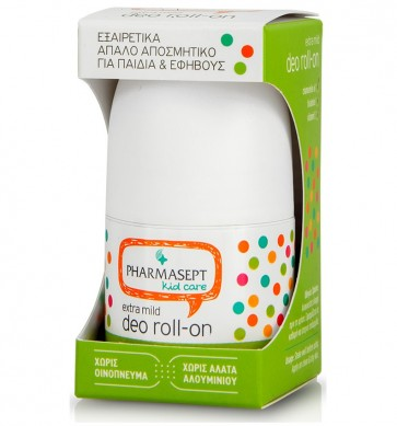 Pharmasept Kid Deo Roll-on Extra Mild, Απαλό Παιδικό Αποσμητικό by Pharmasept