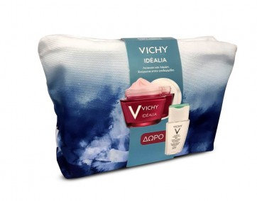 Vichy Idealia Ξηρή Επιδερμίδα & ΔΩΡΟ Purete Thermal 3 in 1 by Vichy