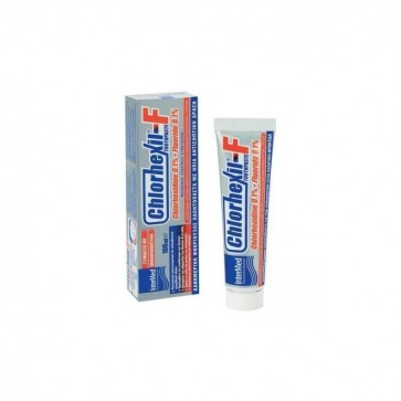 Chlorhexil - F Toothpaste Chlorhexidine 0.1% + Fluoride 0.1% by Chlorhexil