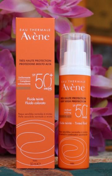 Avene Eau Thermale Solaire Fluide SPF50+ Teintee  by Avene