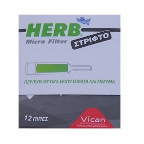 Vican Herb Micro Filter Στριφτό
