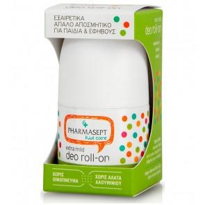 Pharmasept Kid Deo Roll-on Extra Mild, Απαλό Παιδικό Αποσμητικό