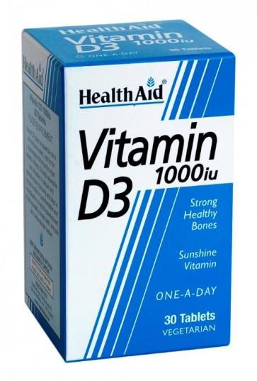 Health Aid Vitamin D3 1000iu by Health Aid