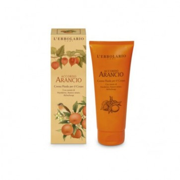 L'Erbolario Accordo Arancio Fluid Body Cream by L'Erbolario