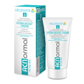 Helenvita ACNormal Hydra Boost Cream, Ενυδατική Κρέμα Προσώπου Ελαφριάς Υφής