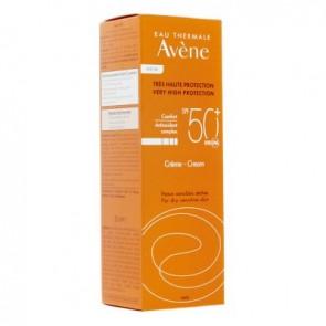 Avene Sun Cream Αντηλιακή Κρέμα Προσώπου SPF 50+