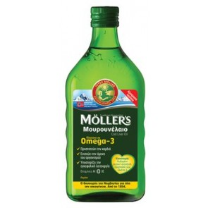 Moller's Μουρουνέλαιο Λεμόνι