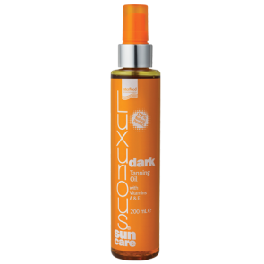 Luxurious Sun Care Dark Tanning Oil