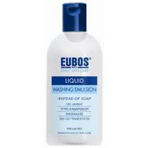 Eubos Blue Liquid Washing Emulsion 200ml