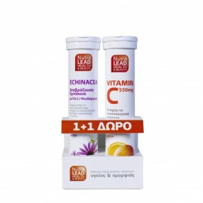 NutraLead Echinacea, Vitamin C, Zinc + Δώρο Vitamin C 550mg