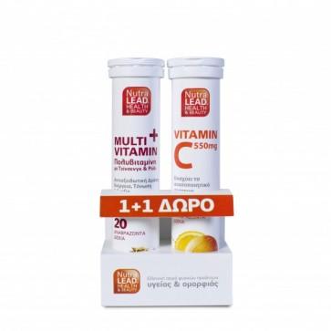 NutraLead MultiVitamin + Δώρο Vitamin C 550mg by Vitorgan