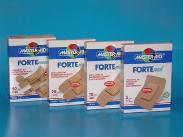 Master-Aid Forte Med 100 strips Large by Master-Aid