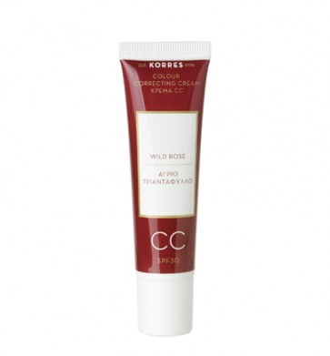 Korres Colour Correcting Cream Wild Rose Medium Shade by Korres
