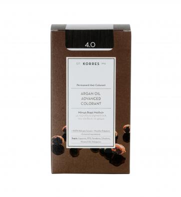 Korres Argan Oil Advanced Colorant 4.0 Καστανό Φυσικό by Korres
