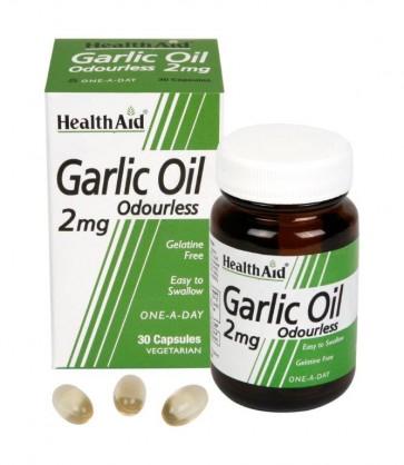 Health Aid Garlic Oil Odourless by Health Aid