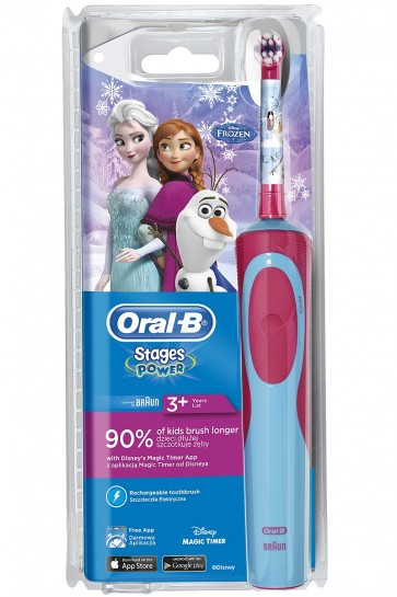 Oral-B Vitality Frozen 3+ Ηλεκτρική Οδοντόβουρτσα by Oral-B