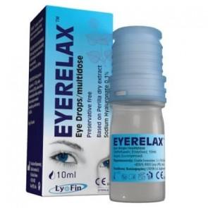 Eye Relax Οφθαλμικές Σταγόνες με Υαλουρονικό Νάτριο