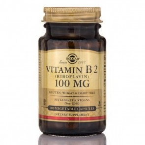 Solgar Vitamin B2 100mg