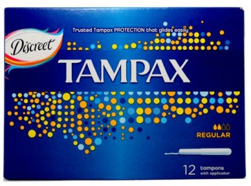 Tampax Regular 12  by Tampax