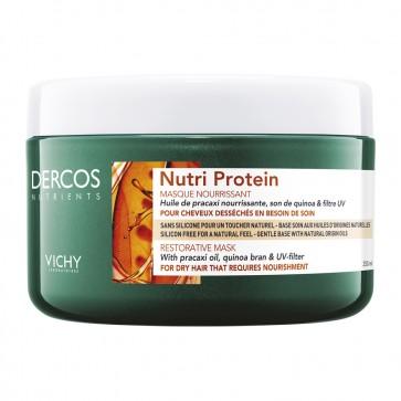 Vichy Dercos Nutri Protein Restorative Mask, Θρεπτική Μάσκα Αναδόμησης για Ξηρά Μαλλιά 250ml by Vichy