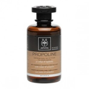 Apivita Propoline Σαμπουάν Κατά Της Πιτυρίδας Για Λιπαρά Μαλλιά