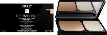 Vichy Dermablend Διορθωτικό Make up Compact Νο 35 Sand by Vichy